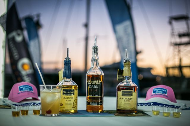 Westerhall Rums in Puerto Calero Marina. Credit: RORC/James Mitchell