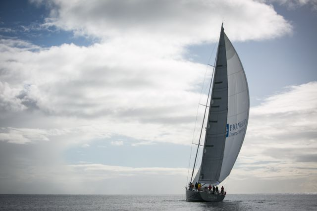 Russian Southern Wind 94, Windfall, skippered by Fabrizio Oddone. Photo: Puerto Calero/James Mitchell