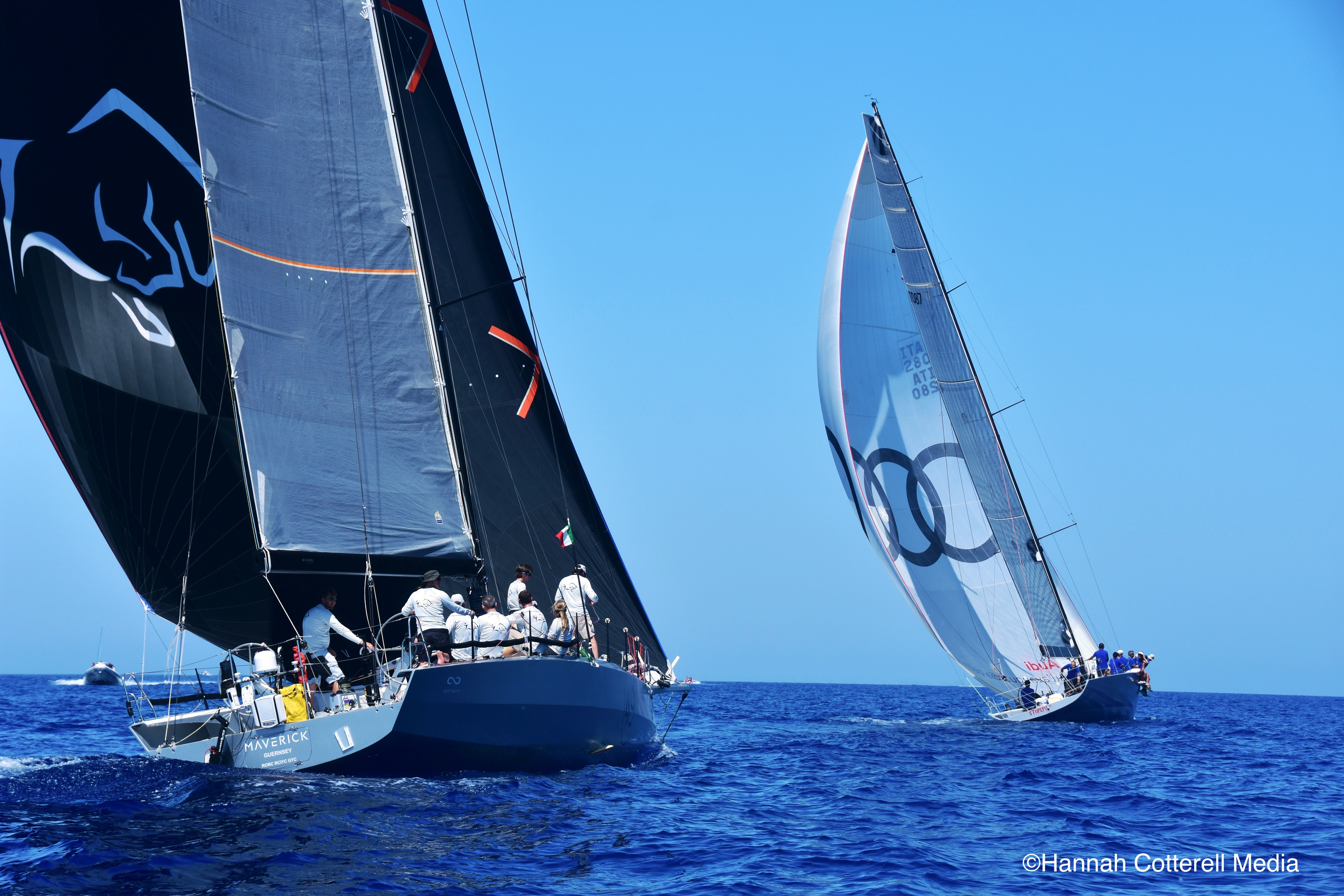 Infiniti 46 Maverick, with DSS foils will be skippered by Oliver Cotterell © Hannah Cotterell Media