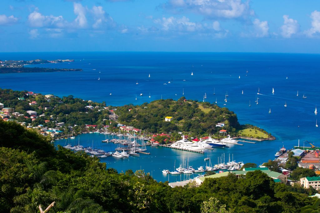 A warm spice island welcome is waiting for the RORC Transatlantic Race fleet and Childhood 1's line honours arrival  © Camper & Nicholsons Port Louis Marina, Grenada