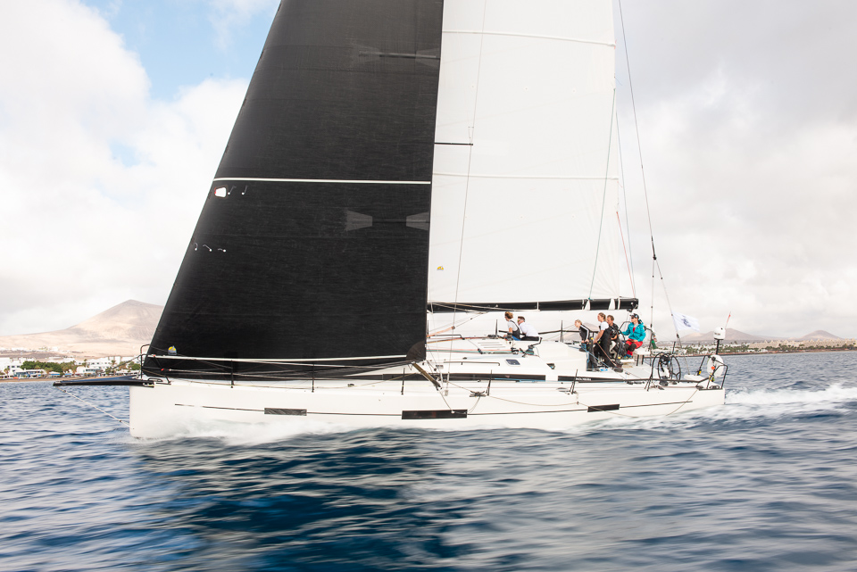 Making good progress on Giles Redpath's Lombard 46 Pata Negra © Joaquin Vera/Calero Marinas/RORC