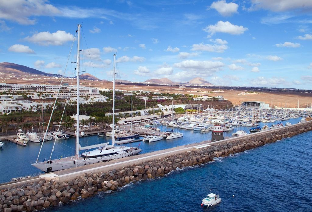 Supported once again by Calero Marinas, the fleet will be hosted at Puerto Calero before the start in 2021 © Calero Marinas Puerto Calero